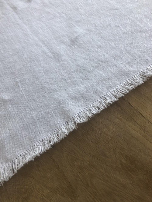 detail nappe blanche